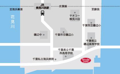 ラスカ茅ヶ崎店地図