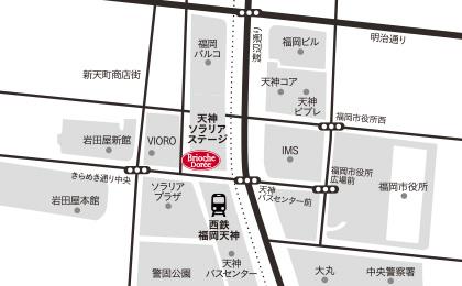 天神ソラリア店地図